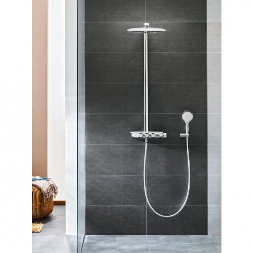 Душова система з термостатом Grohe Rainshower System SmartControl 360 DUO