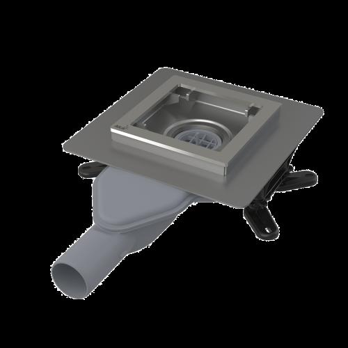 Зливний трап Alca Plast APV110 з нержавіючої сталі 130х130 мм