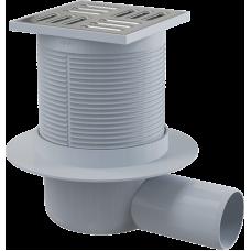 Зливний трап Alca Plast APV1 з нержавіючої сталі 105×105/50 мм