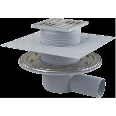 Сливной трап Alca Plast APV1324 с нержавеющей стали 105×105/50 мм