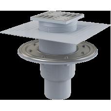 Зливний трап Alca Plast APV2324 з нержавіючої сталі 105×105/50/75 мм