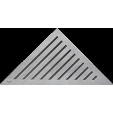 Решетка для углового водоотводного желоба Alca Plast GRACE, нержавеющая сталь-мат