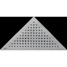 Решетка для углового водоотводного желоба Alca Plast TRITON, нержавеющая сталь-мат