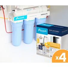 Годовой запас картриджей ECOSOFT для фильтра обратного осмоса с минерализатором
