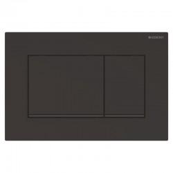Панель змиву Geberit Sigma 30 чорна матова з легкоочисною поверхнею
