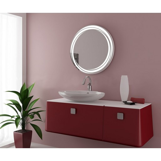 Зеркало J-MIRROR Celeste 60x60 см с LED подсветкой