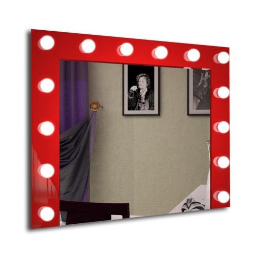 Зеркало J-MIRROR Hollywood Color 50x80 см для грима