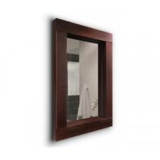 Дзеркало J-MIRROR Lidia 70х70 см дерев'яна рама