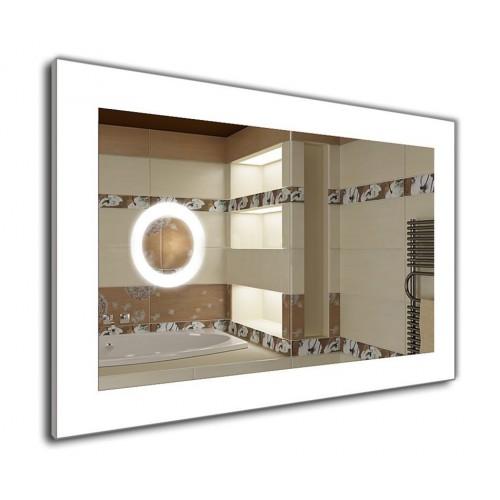 Дзеркало J-MIRROR Norma 60x100 см з LED підсвічуванням та лінзою