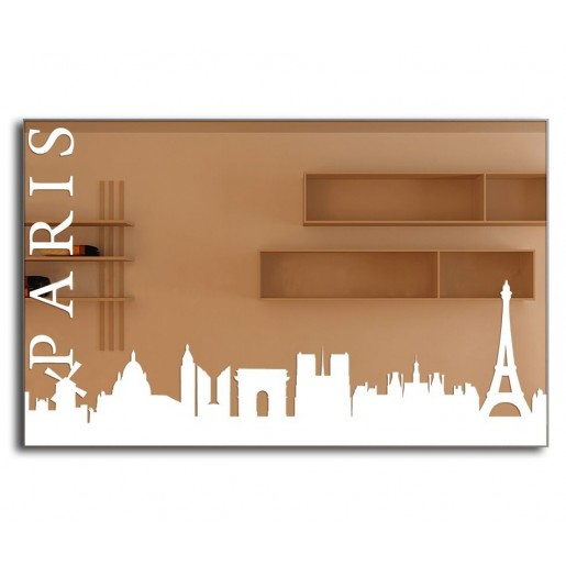 Зеркало J-MIRROR Paris 55x120 см с LED подсветкой