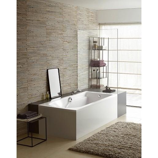 Ванна акрилова прямокутна KOLO Comfort Plus 170х75 см з ніжками та ручками