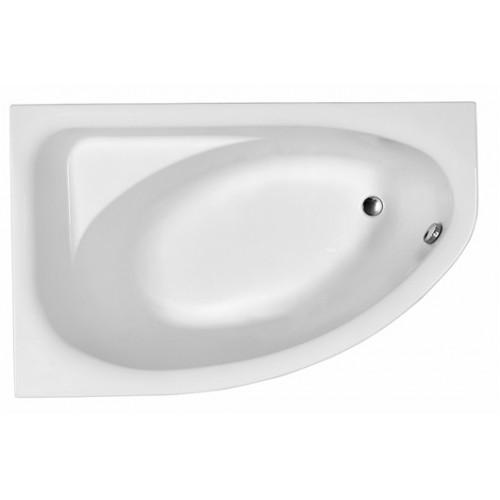 Ванна акрилова асиметрична кутова KOLO Spring 170x110 L + ніжки та панель