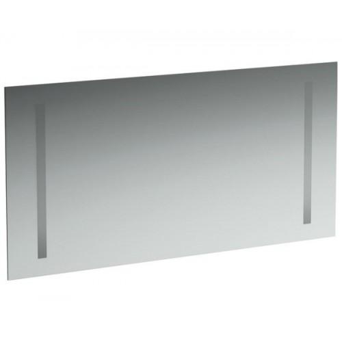 Дзеркало LAUFEN Case з двома вертикальними елементами підсвітки 120 х 62 см