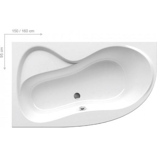 Ванна акрилова Ravak Rosa 95