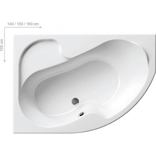 Ванна акриловая Ravak Rosa
