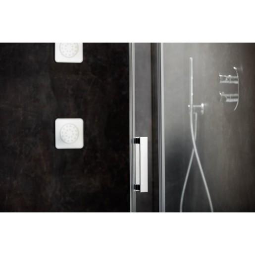 Душова кабіна Ravak Matrix MSDPS-100/80 L полірований алюміній