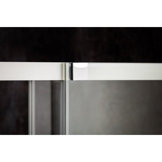 Душевая кабина Ravak Matrix MSDPS-100/80 L полированный алюминий
