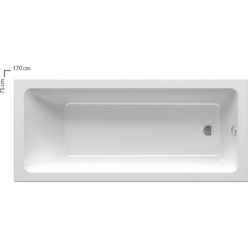 Ванна акриловая Ravak 10° 170x75