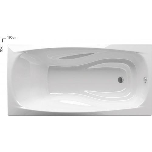 Ванна акриловая Ravak XXL 190x95