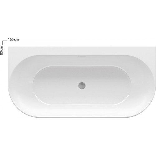Ванна акрилова Ravak Freedom W 166x80