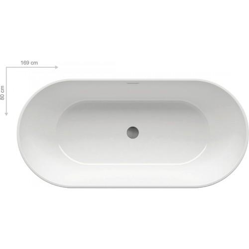 Ванна акрилова Ravak Freedom O 169x80