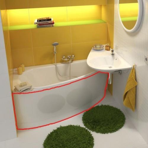 Панель для ванной Ravak Avocado фронтальная