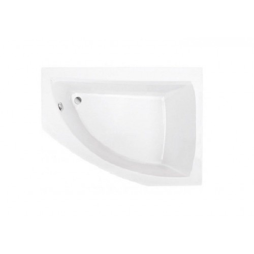 Ванна акрилова асиметрична ROCA Aquamarina кутова (права) 175 х 120 см + ніжки та панель