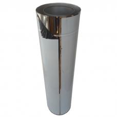 Труба двостінна STALAR Termo 1 м нерж/нерж 1 мм Ø 120 - 400