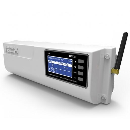 Монтажна планка Tech ST-L-8 бездротовий контролер термостатичних клапанів
