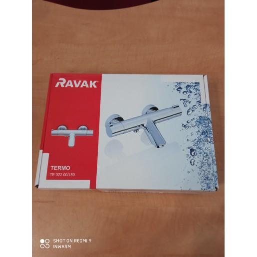 Змішувач для ванни Ravak настінний термостатичний